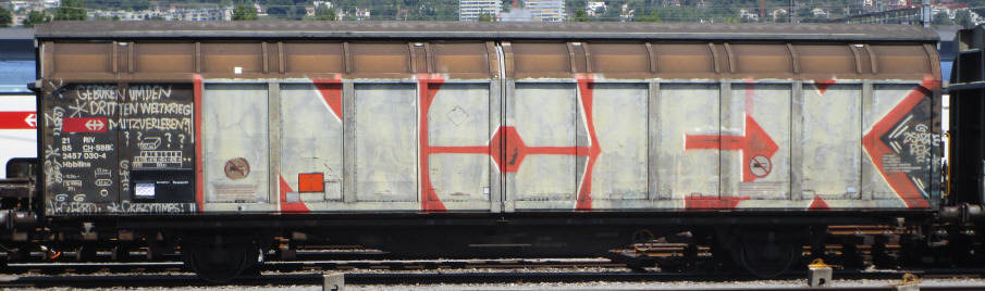 NOFX SBB-güterwagen graffiti zürich cargo train graffiti freights