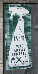 event pure crowd control streetart zurich switzerland