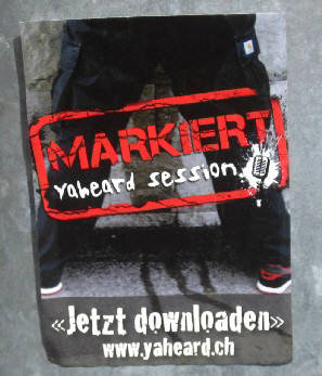 Swiss HipHop. 'MARKIERT' yaheard session